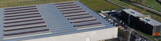 Instalación fotovoltaica para cubrir las necesidades eléctricas de las oficinas