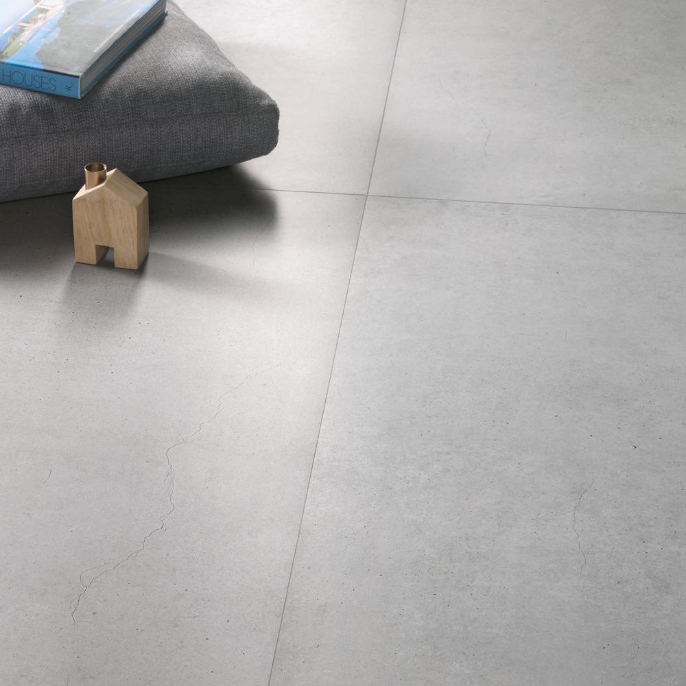 Azulejos porcelánicos imitación cemento
